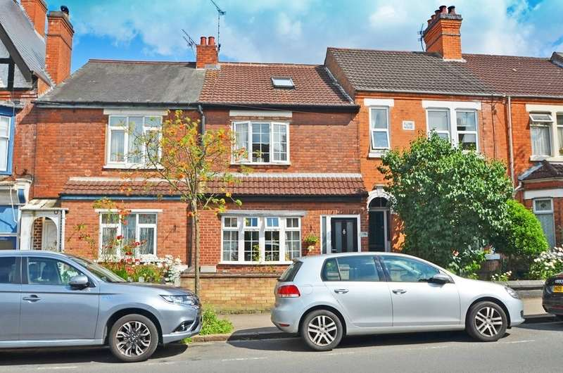4 Bedrooms Terraced House for sale in Murray Road, Rugby