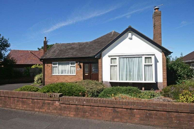 2 Bedrooms Detached Bungalow for sale in Moreton Drive, Poulton-Le-Fylde