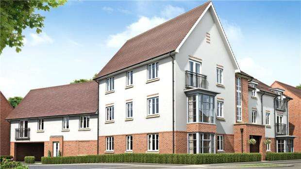 2 Bedrooms Apartment Flat for sale in Mulberry Court, London Road, Wokingham