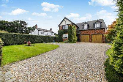 4 Bedrooms Detached House for sale in Church Minshull, Nantwich, Cheshire, England, CW5
