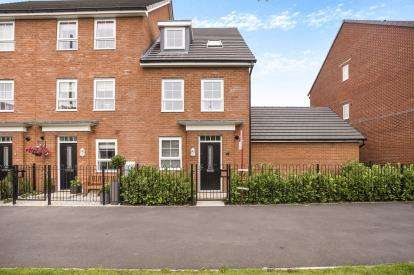 4 Bedrooms End Of Terrace House for sale in Factory Way, Chorley, Lancashire