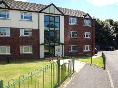 2 Bedrooms Flat for sale in Lightley Close, Sandbach, Cheshire