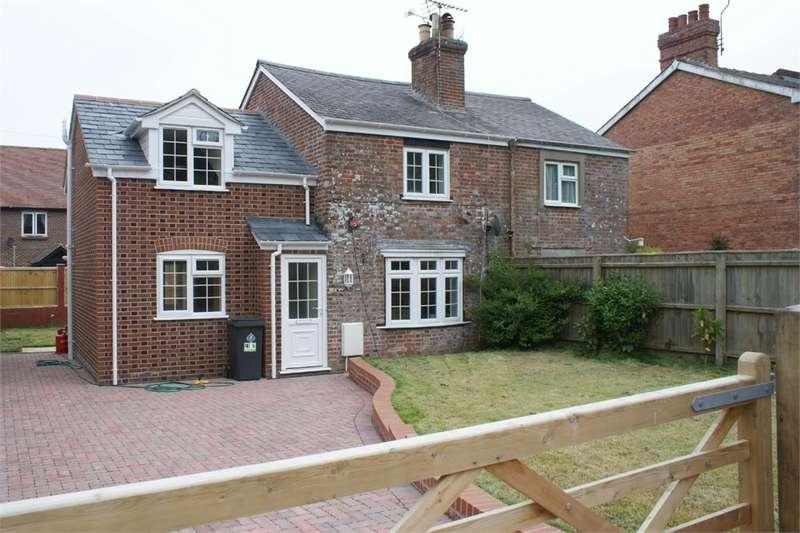 3 Bedrooms Semi Detached House for sale in Station Cottages, Moreton, Dorchester, Dorset