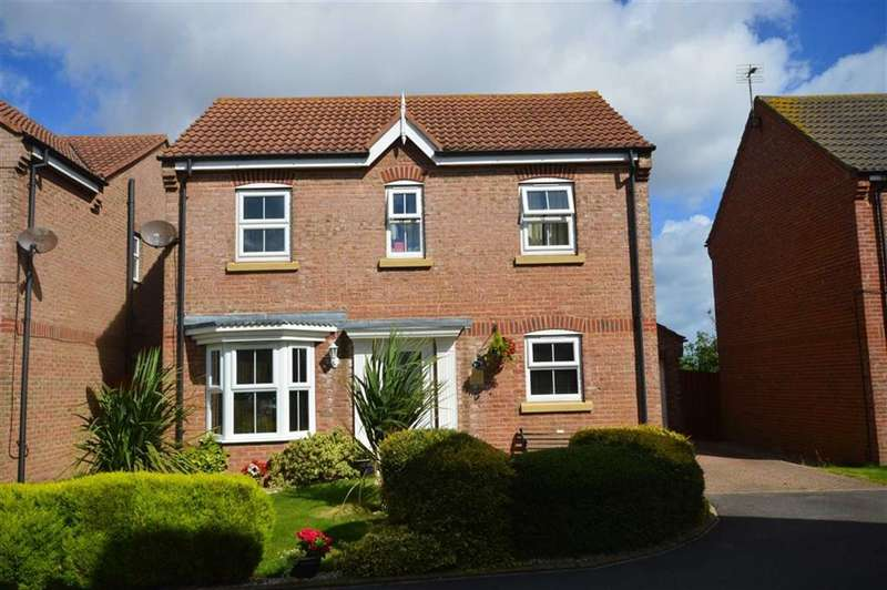 4 Bedrooms Detached House for sale in Swallow Close, Hornsea, East Yorkshire