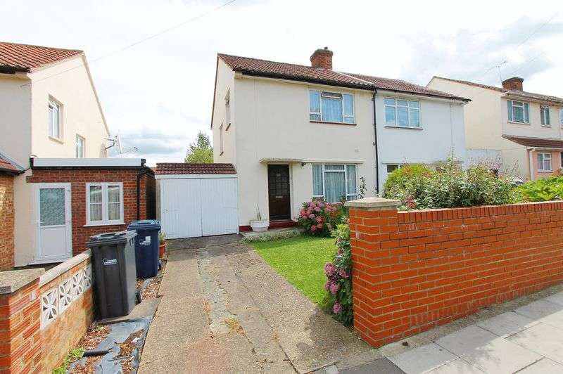 3 Bedrooms Semi Detached House for sale in Allenby Road, Southall