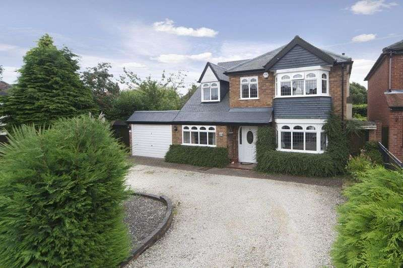 4 Bedrooms Detached House for sale in Knights Avenue, Tettenhall, Wolverhampton