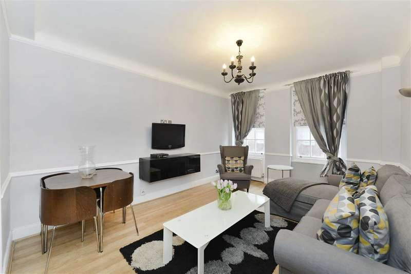2 Bedrooms Flat for sale in Cumberland Court, London