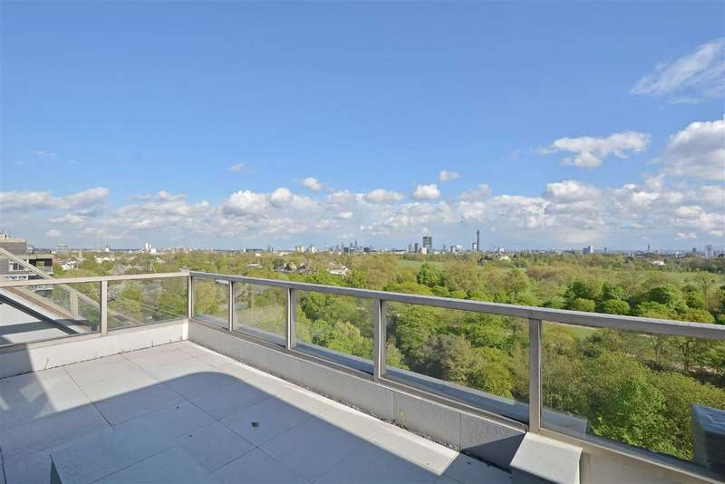 4 Bedrooms Flat for sale in Park St James, London, NW8