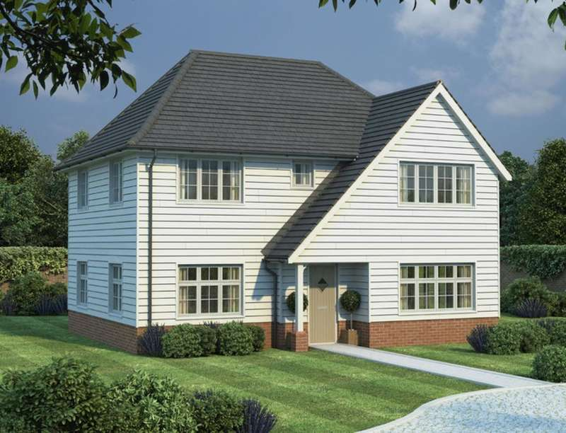 4 Bedrooms Detached House for sale in Goudhurst Road, Marden, Tonbridge, TN12