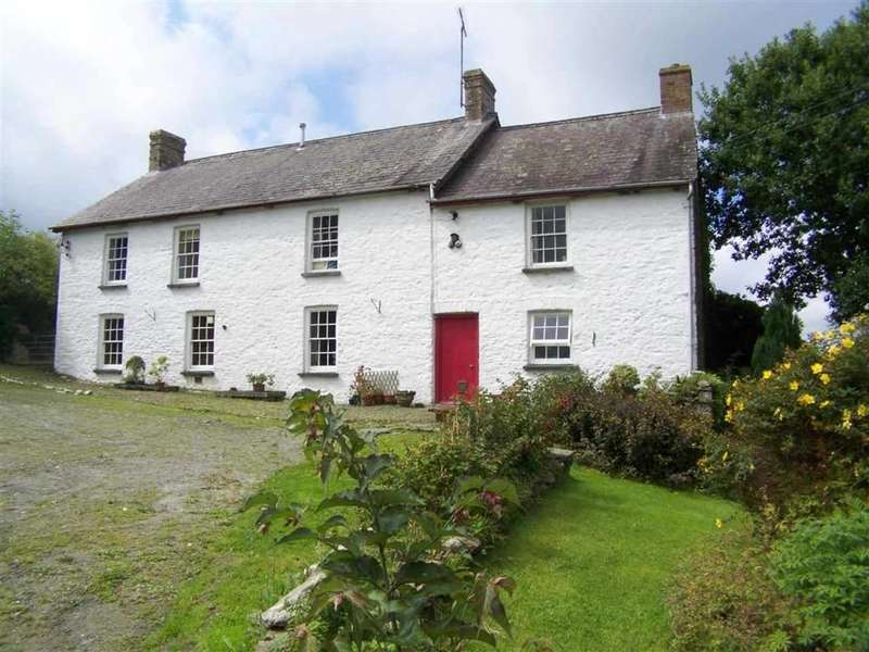 4 Bedrooms Property for sale in Bancyffordd, Llandysul