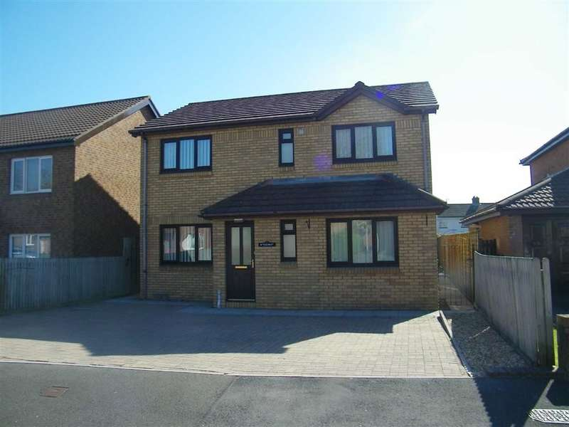 4 Bedrooms Property for sale in Glan Yr Afon, Tirydail, Ammanford