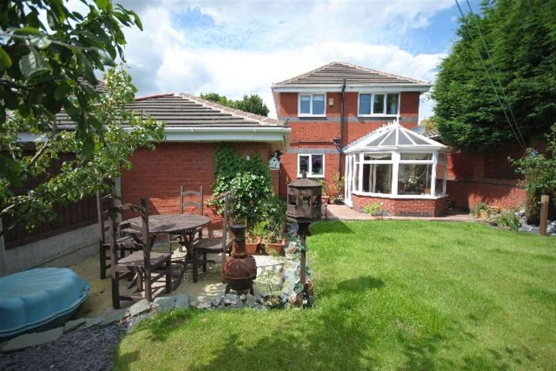 3 Bedrooms Detached House for sale in Spelding Drive, Standish Lower Ground, Wigan, WN6