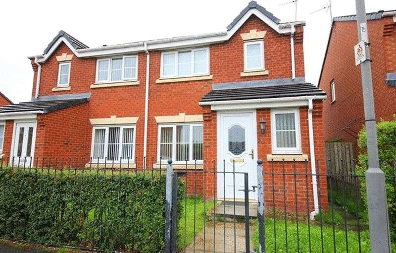3 Bedrooms Semi Detached House for sale in Addenbrooke Drive, Hunts Cross Village, Liverpool, L24