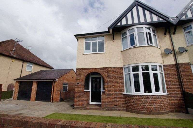 3 Bedrooms Semi Detached House for sale in Court Road, Wrexham