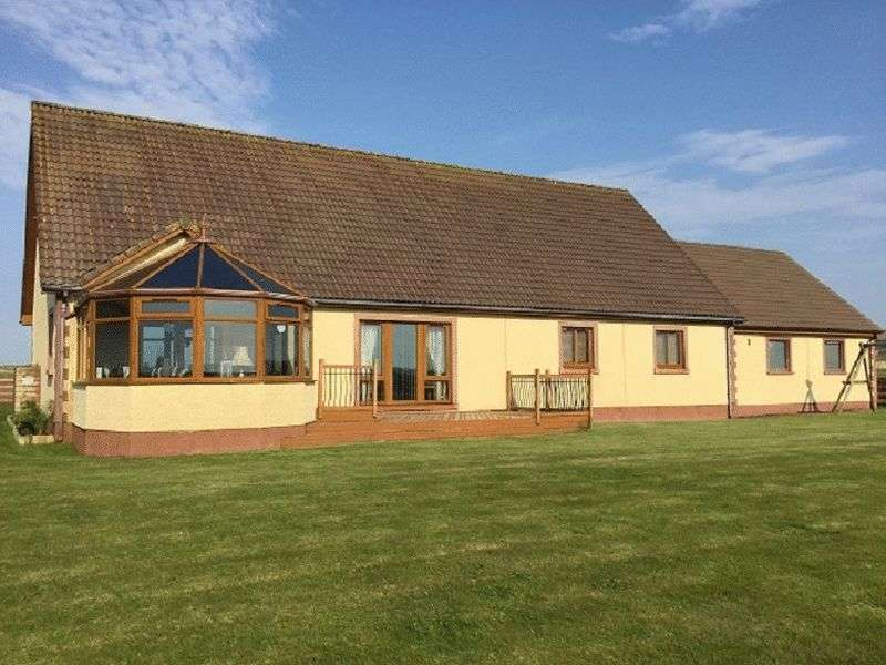 4 Bedrooms Detached Bungalow for sale in Achalone , Halkirk Substanial Family Home with Stables