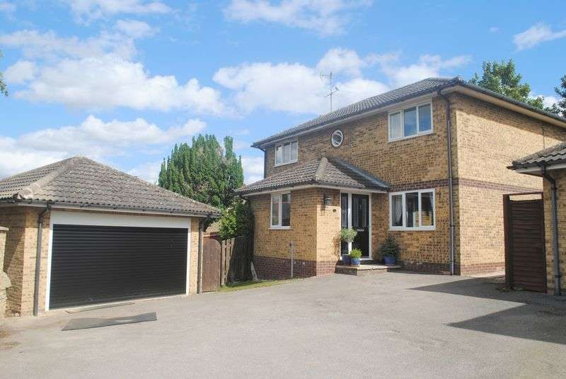 4 Bedrooms Detached House for sale in Warwick Close, Raunds
