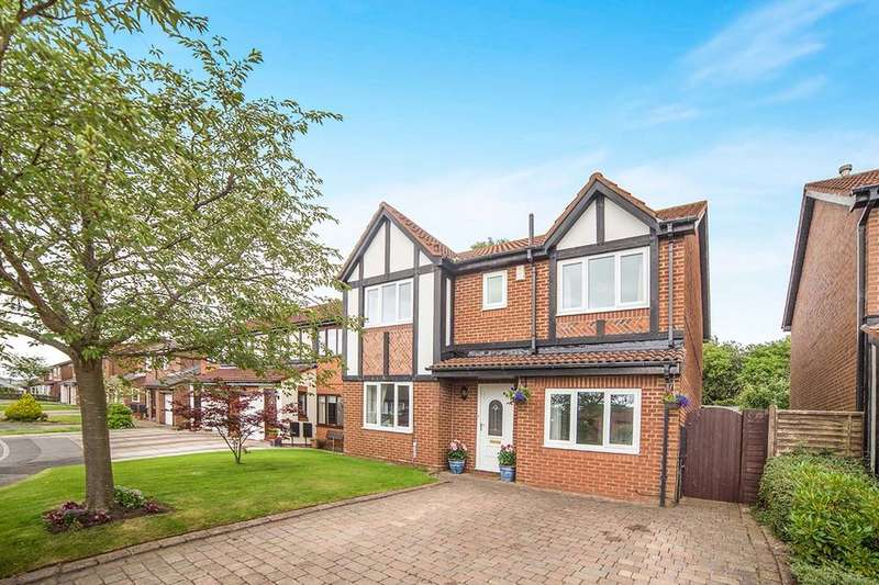 5 Bedrooms Detached House for sale in Dunlin Close, Ryton, NE40