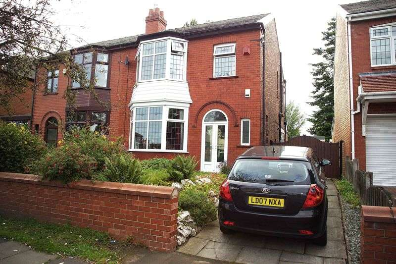 3 Bedrooms Semi Detached House for sale in Stockport Road, Manchester