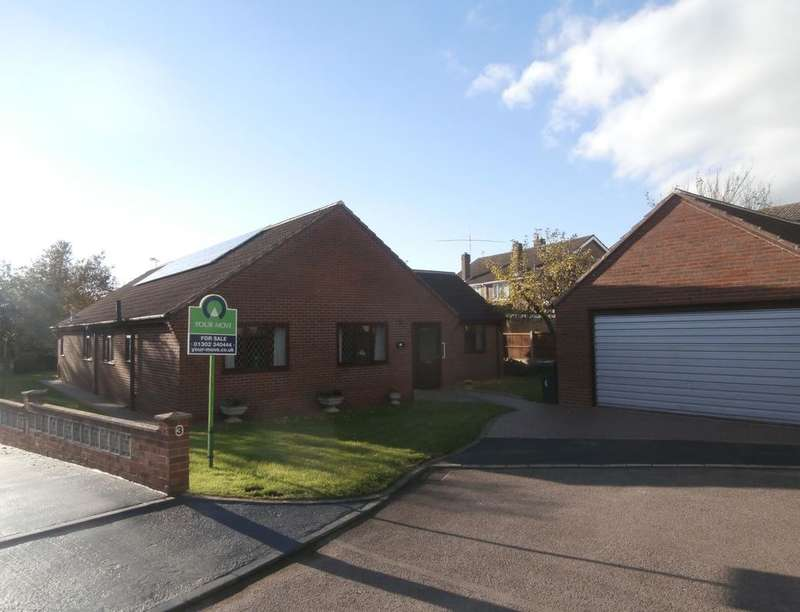 4 Bedrooms Detached Bungalow for sale in Manor Close, Barnby Dun, Doncaster, DN3