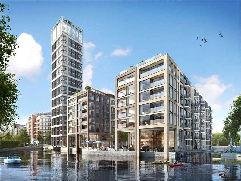 3 Bedrooms Flat for sale in The Tower, Chelsea Creek, Fulham, London, SW6
