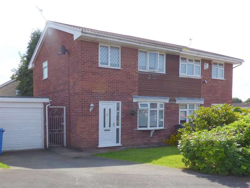 3 Bedrooms Semi Detached House for sale in Cringles Drive, Tarbock Green, Liverpool