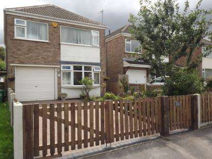 3 Bedrooms Detached House for sale in Yalding Gardens, Wollaton, Nottinghamshire