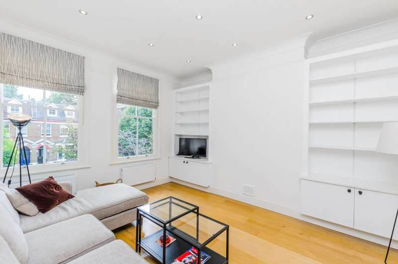 2 Bedrooms Flat for sale in Hartham Road, Hillmarton Conservation Area, N7