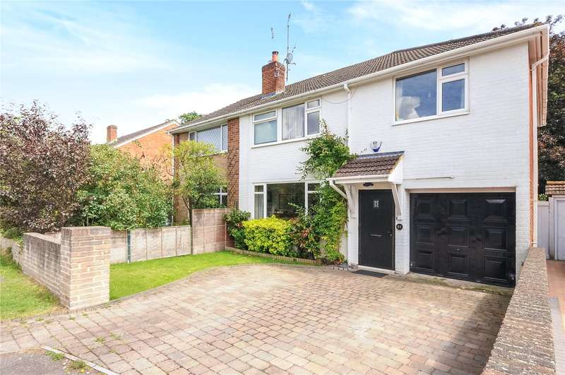4 Bedrooms Semi Detached House for sale in Prince Andrew Way, Ascot, Berkshire, SL5
