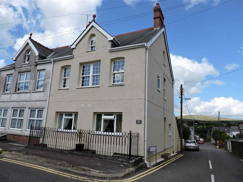 4 Bedrooms Semi Detached House for sale in Gwilym Road, Cwmllynfell