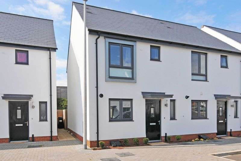 2 Bedrooms Semi Detached House for sale in Exminster