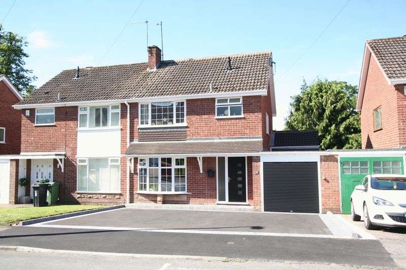 3 Bedrooms Semi Detached House for sale in WORDSLEY, Stapleford Grove