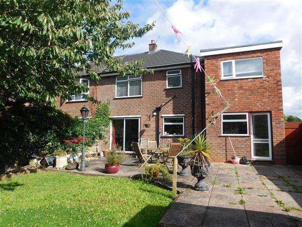 4 Bedrooms Semi Detached House for sale in Vernon Close, Cheadle Hulme, Cheshire