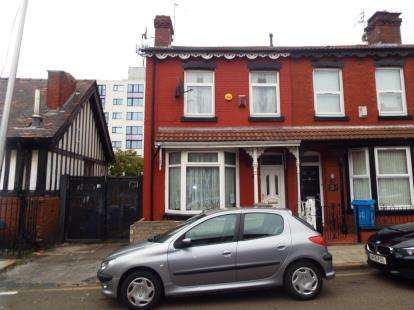3 Bedrooms End Of Terrace House for sale in Leinster Road, Liverpool, Merseyside, L13