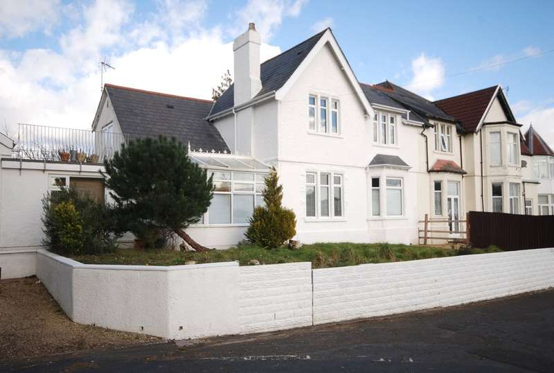 4 Bedrooms Semi Detached House for sale in Pencoedtre Lane, Barry, Vale of Glamorgan, CF63 1QF