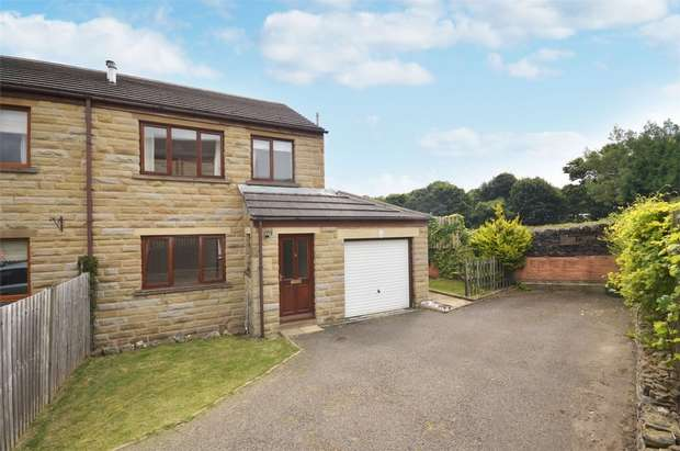 3 Bedrooms Semi Detached House for sale in Well Ings Close, Shepley, HUDDERSFIELD, West Yorkshire