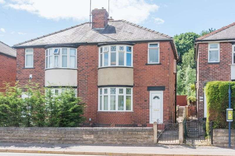 3 Bedrooms Semi Detached House for sale in Middlewood Road, Hillsborough - Garage To The Rear