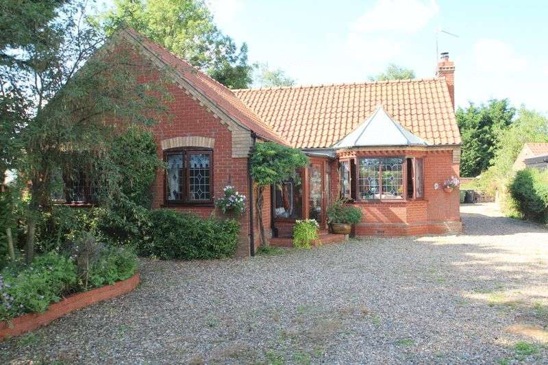 3 Bedrooms Detached Bungalow for sale in Low Road, Haddiscoe
