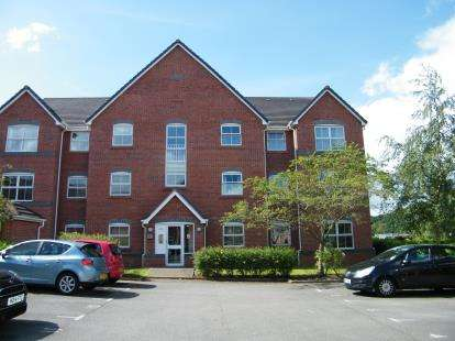 2 Bedrooms Flat for sale in Eaton Court, Wrenbury Drive, Cheshire