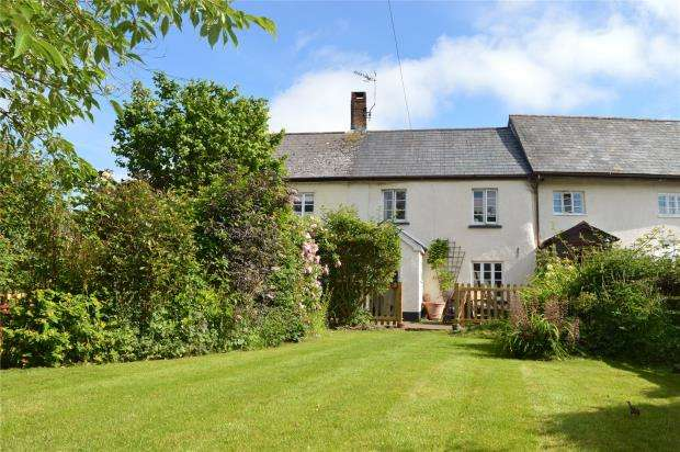 3 Bedrooms Terraced House for sale in Whites Cottages, Morchard Bishop, Crediton, Devon