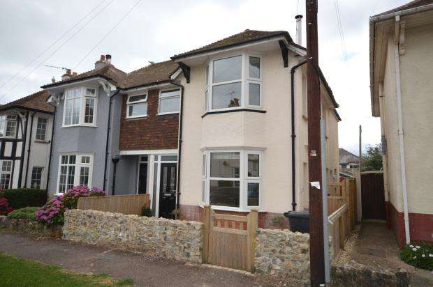 3 Bedrooms Semi Detached House for sale in Connaught Road, Sidmouth, Devon