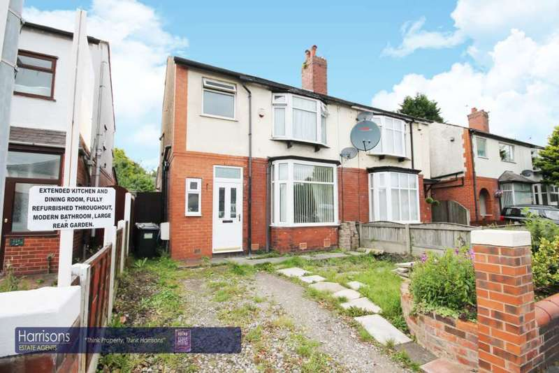 3 Bedrooms Semi Detached House for sale in Bradford Road, Great Lever, Bolton, Lancashire.