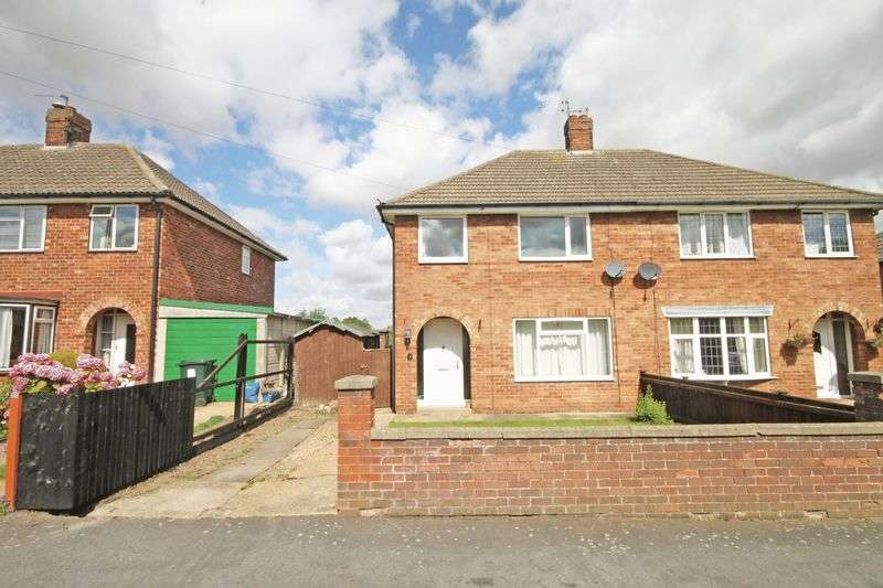 3 Bedrooms Semi Detached House for sale in HOLMES CLOSE, LOUTH