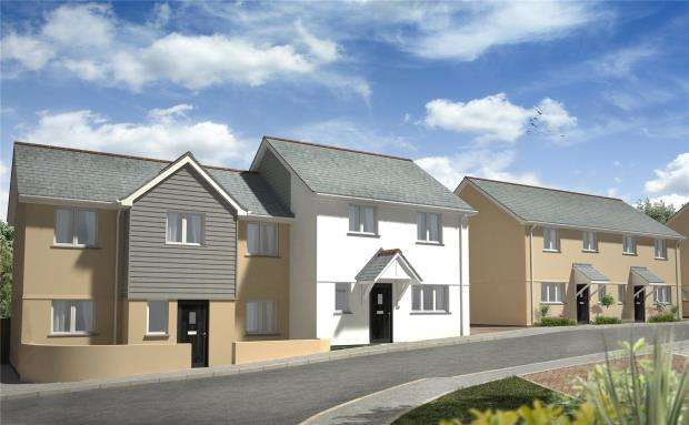 3 Bedrooms Semi Detached House for sale in Lowen Praze, Fraddon, St. Columb, Cornwall