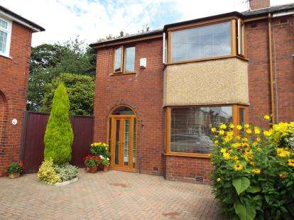 3 Bedrooms Semi Detached House for sale in Douglas Avenue, Elton, Bury, Greater Manchester, BL8