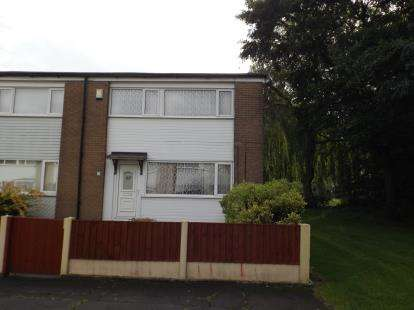 3 Bedrooms End Of Terrace House for sale in Crossmoor Drive, Bolton, Greater Manchester