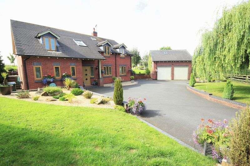 4 Bedrooms Detached House for sale in Church Lane, Ash Magna