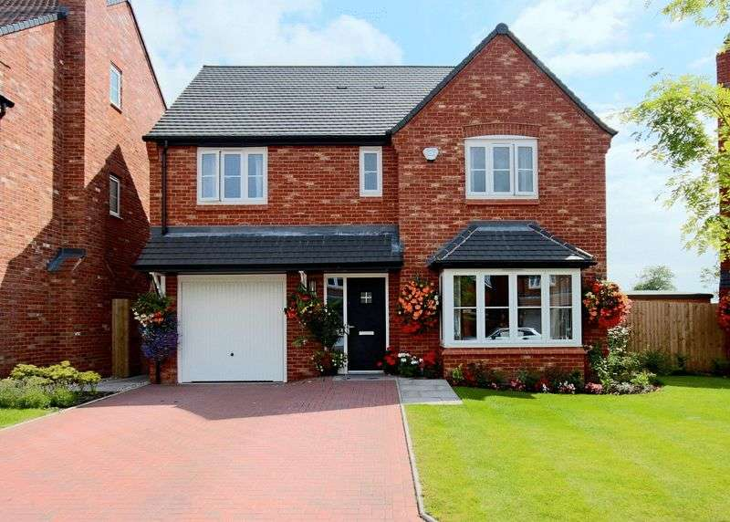 4 Bedrooms Detached House for sale in Ash Lane, Yarnfield, Stone