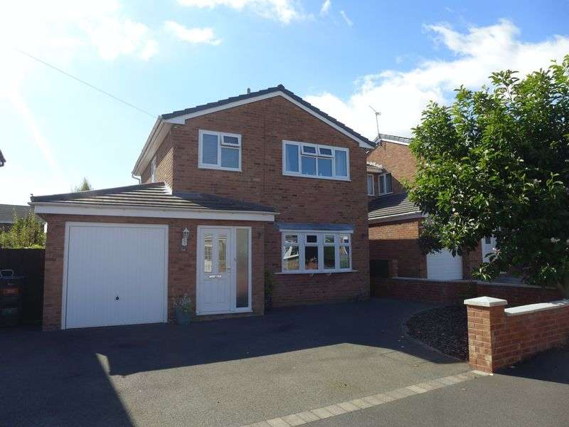3 Bedrooms Detached House for sale in Goulbourne Avenue, Wrexham