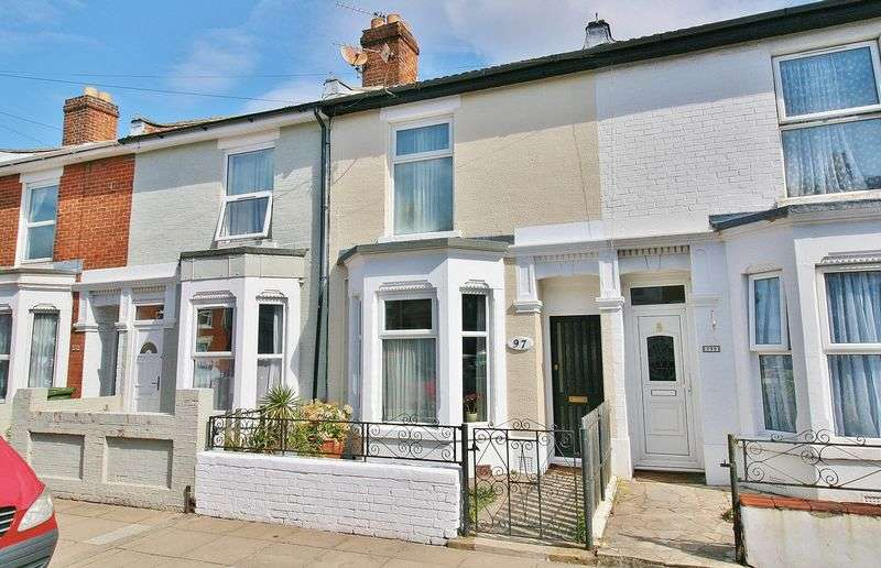 2 Bedrooms Terraced House for sale in Jessie Road, Southsea