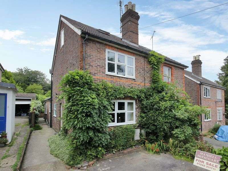 3 Bedrooms Semi Detached House for sale in Maypole Road, Ashurst Wood